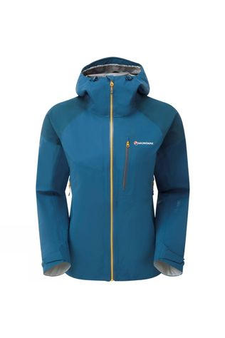Montane Women's Fleet Jacket Narwhal Blue/Inca Gold