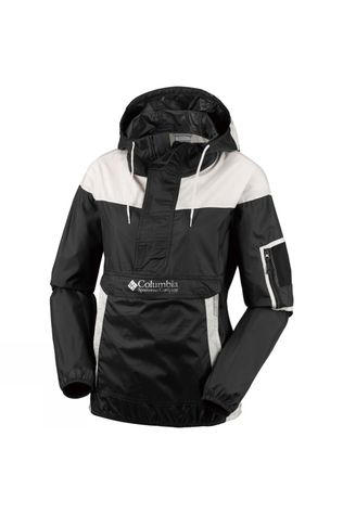 Columbia Womens Challenger Windbreaker Jacket Black, Stone