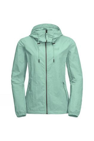 Jack Wolfskin Womens Lakeside Jacket Light Jade