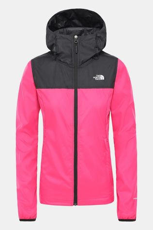 The North Face Women's Cyclone Packable Jacket Mr. Pink/TNF Black
