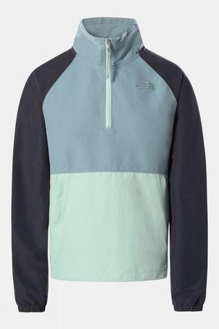 The North Face Womens Class V Windbreaker TOURMALINE BLUE / MISTY JADE / VANADIS GREY