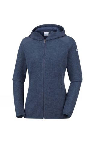 Columbia Womens Coggin Peak Hooded Fleece Nocturnal