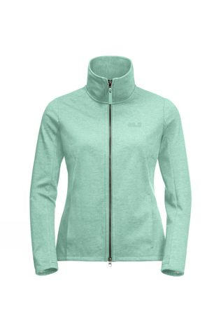 Jack Wolfskin Womens Riverland Jacket Light Jade