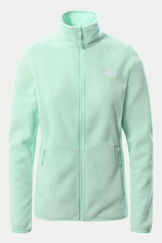 The North Face Womens 100 Glacier Full Zip Fleece Misty Jade