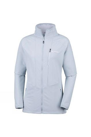 Columbia Womens Titan Trekker Full Zip Cirrus Grey, White
