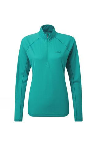 Rab Womens Pulse LS Zip Serenity