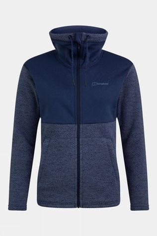 Berghaus Womens Colca Fleece Jacket Jet Black/Vintage Indigo