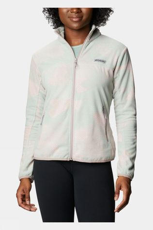 Columbia Womens Ali Peak Full Zip Fleece Aqua Tone Camo