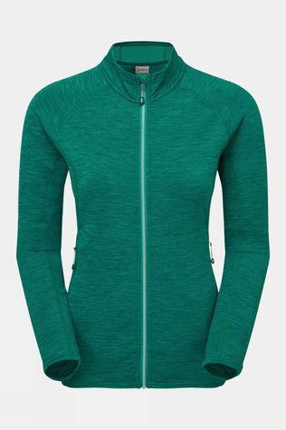 Montane Womens Protium Fleece Jacket Green
