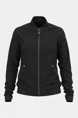 Odlo Womens Full Zip Halden Midlayer Black