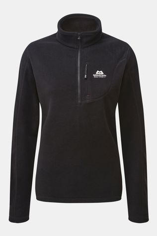 Mountain Equipment Womens Micro Zip Tee Black