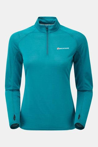 Montane Womens Allez Micro Pull-On Zanskar Blue