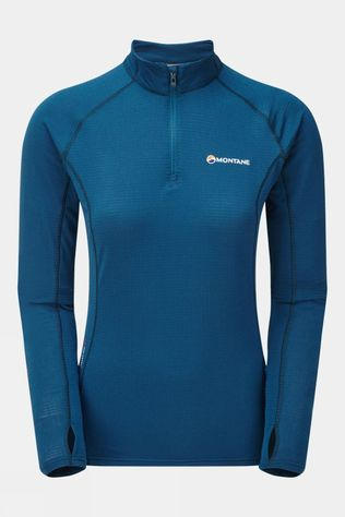 Montane Womens Allez Micro Pull-On Narwhal Blue