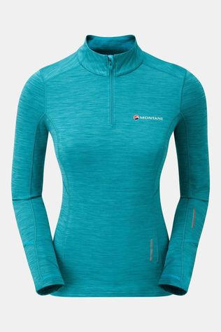 Montane Womens Katla Pull-On  Cerulean Blue/Tarbular Orange