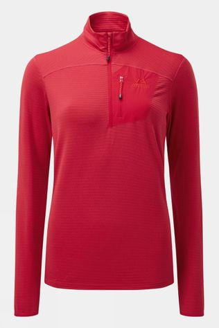 Mountain Equipment Womens Lumiko Zip T Red