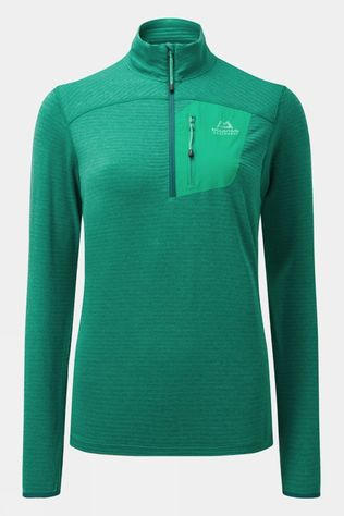 Mountain Equipment Womens Lumiko Zip T Bright green