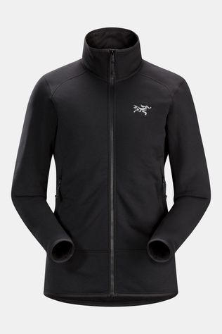 Arc'teryx Womens Kyanite Polartec Powerstretch Jacket Black
