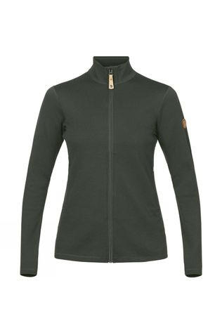Fjallraven  Womens Keb Wool Sweater  Deep Forest