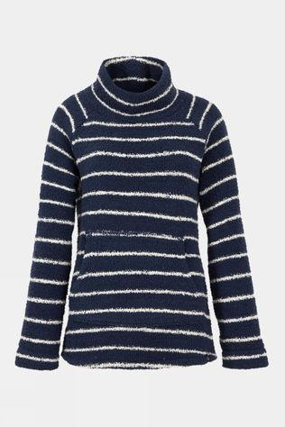 Weird Fish Womens Sarno Feather Fleece Navy