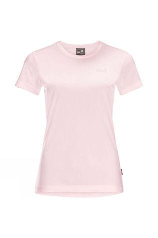Jack Wolfskin Womens Belton Tee Pale Pink Heather