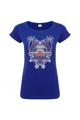 Protest Womens Styler T-Shirt Deep Kobalt