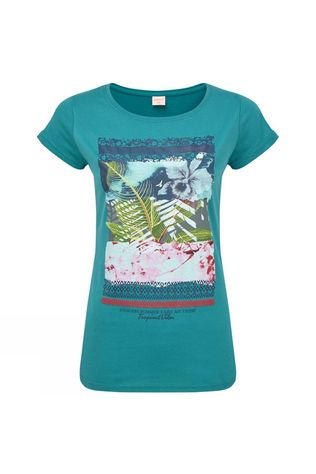 Protest Womens Liv T-Shirt Soft Teal