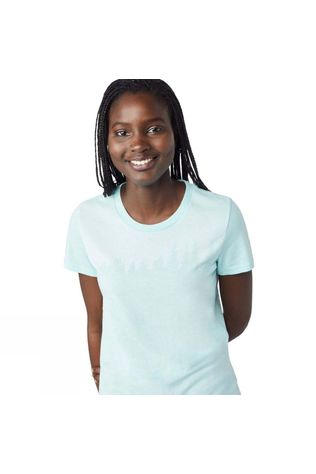 Tentree Womens Juniper Tee Blue Tint