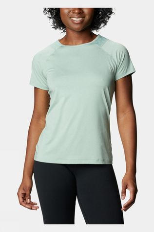 Columbia Womens Peak To Point II T-shirt Aqua Tone Heather