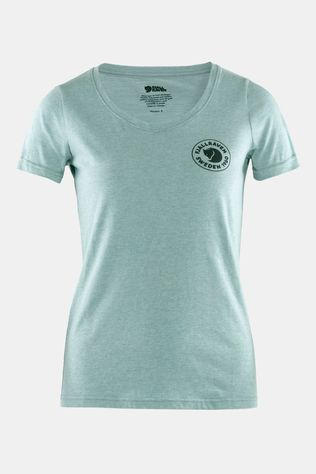 Fjallraven Women's 1960 Logo T-Shirt Clay Blue/Melange