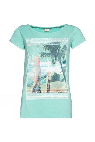 Protest Womens Lorna T-Shirt Seabreeze