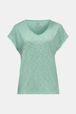 Jack Wolfskin Womens Travel T-shirt Light Jade