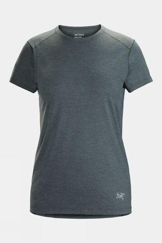 Arc'teryx Womens Quadra Crew Tee Enigma Heather