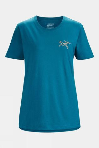 Arc'teryx Womens Bird Emblem Tee Teal