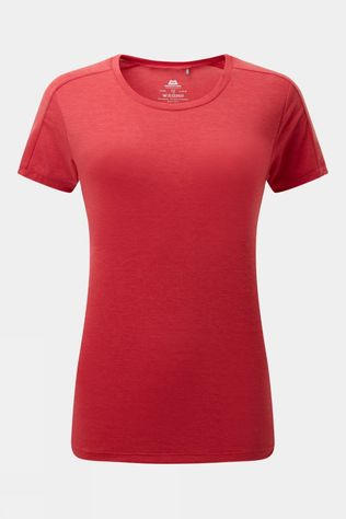 Mountain Equipment Womens Headpoint Short Sleeve Tee Red