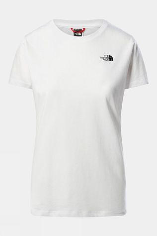 The North Face Womens Simple Dome Short Sleeve Tee TNF WHITE