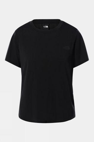 The North Face Womens Wander Twist Back Short Sleeve Tee TNF BLACK