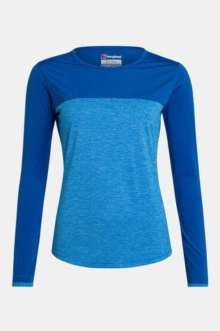 Berghaus Womens Voyager Tech Tee Long Sleeve Crew Blithe