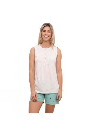 Brakeburn Womens Shells Lace Blouse White