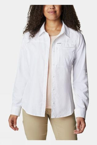 Columbia Womens Silver Ridge 2.0 Long Sleeve White