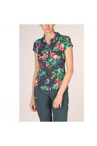 Ayacucho Womens Betty Polo Navy Orchid