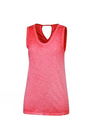 Columbia Womens Elevated Tank Red Coral