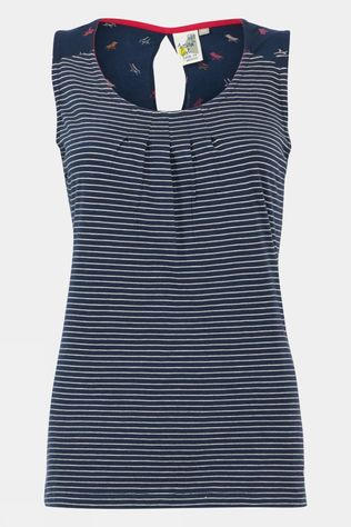 Weird Fish Womens Nilly Eco Vest Navy
