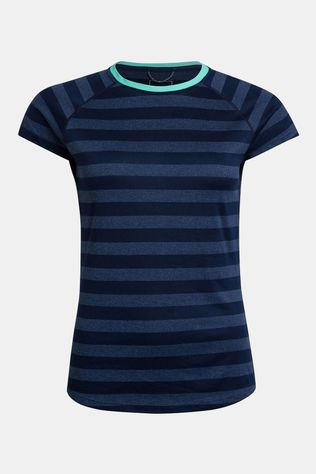 Berghaus Womens Stripe T-shirt Base Layer 2.0  Dusk/Vintage Indigo
