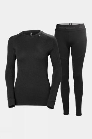 Helly Hansen Womens Merino Twinpack Black