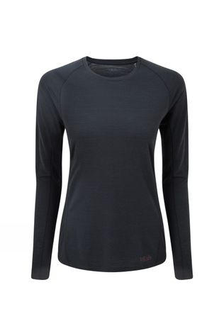 Rab Womens Forge Long Sleeve Top Beluga