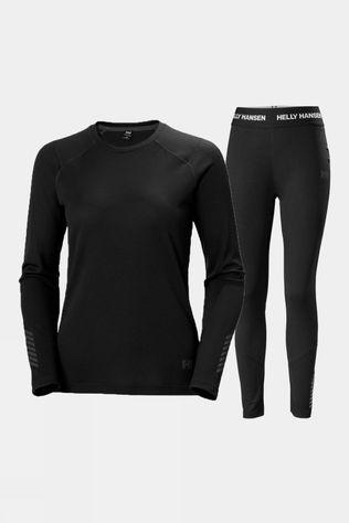 Helly Hansen Womens Lifa Active Set Black