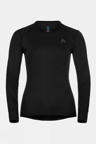 Odlo Womens Active Warm Eco Long-Sleeve Baselayer Top Black