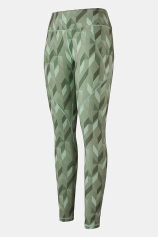 Patagonia Womens Centered Tights Fast Quilt Gypsum Green