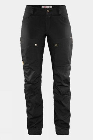 Fjallraven Womens Keb Trousers Curved Black