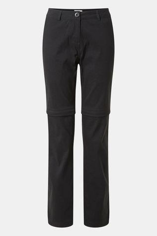 Craghoppers Womens Kiwi Pro II Convertible Trousers Black